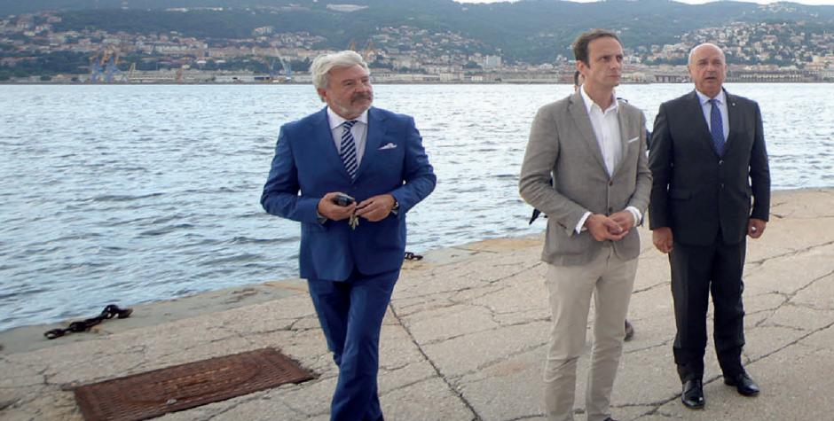Fedriga, Dipiazza e Paoletti: sì al Parco del Mare