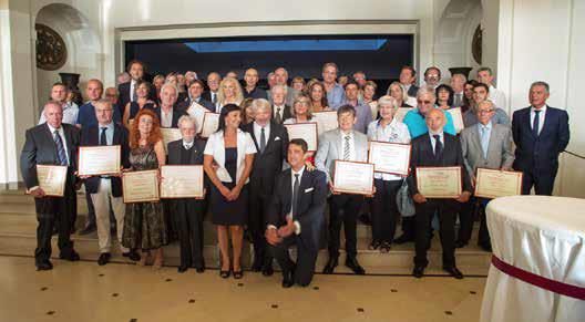 Premio della Fedeltà al Lavoro e del Progresso economico – 2018