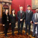 Delegazione cinese in Cciaa Vg  per confronto su nuove opportunità economiche