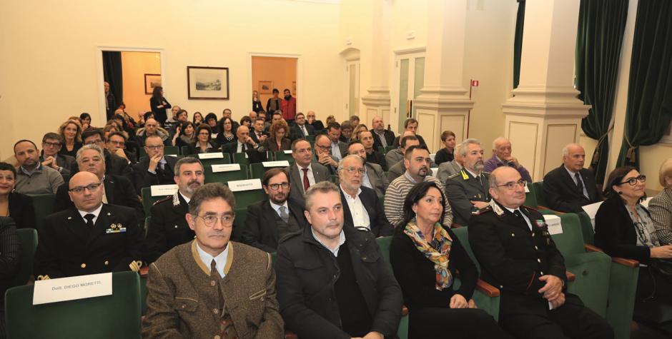 Brindisi a imprese e territorio a palazzo de Bassa a Gorizia
