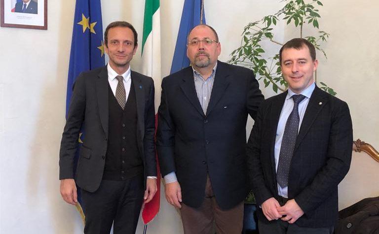Grendene e l'assessore Obizzi incontrano il presidente Fedriga