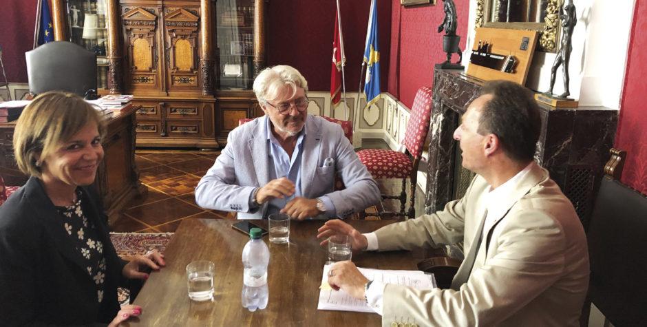 Incontro Paoletti, Postl, Strolego su futuri progetti con l'Austria