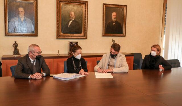 CCIAA firma fusione Consorzio industriale della Venezia Giulia