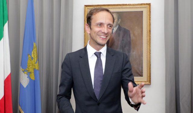 Regione, Proclamazione Presidente Massimiliano Fedriga. Lasorte Trieste 03/05/18 - Regione, Proclamazione Presidente Massimiliano Fedriga